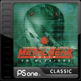 The coverart thumbnail of Metal Gear Solid: VR Missions