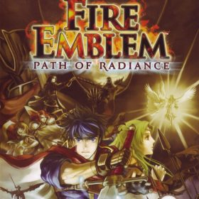 The cover art of the game Fire Emblem: Path of Radiance.