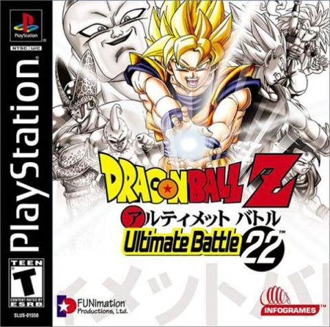 The coverart image of DragonBall Z: Ultimate Battle 22