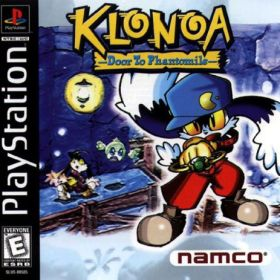 The cover art of the game Klonoa: Door to Phantomile.