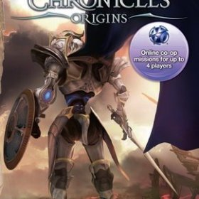The cover art of the game White Knight Chronicles: Origins.