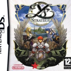 The cover art of the game Ys Strategy.