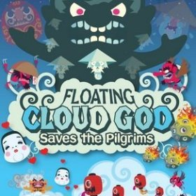 The cover art of the game Floating Cloud God Saves The Pilgrims.