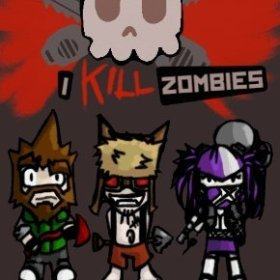 The cover art of the game I Kill Zombies.