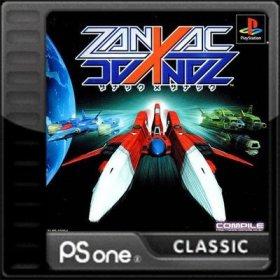 The cover art of the game Zanac X Zanac.