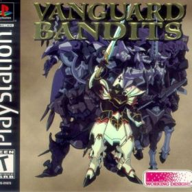 The cover art of the game Vanguard Bandits.