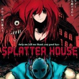 The cover art of the game Splatterhouse.