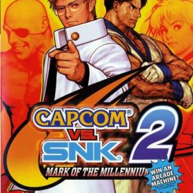 The coverart thumbnail of Capcom vs. SNK 2: Mark of the Millennium 2001