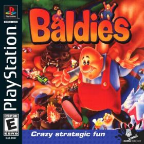 The cover art of the game Baldies.