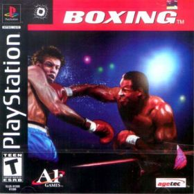 The cover art of the game Boxing.
