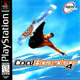 The cover art of the game Cool Boarders 4.