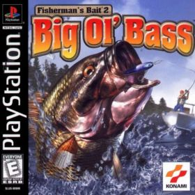 The cover art of the game Fisherman's Bait 2: Big Ol' Bass.
