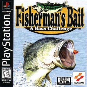 The cover art of the game Fisherman's Bait: A Bass Challenge.
