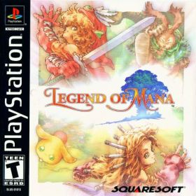 The cover art of the game Legend of Mana.