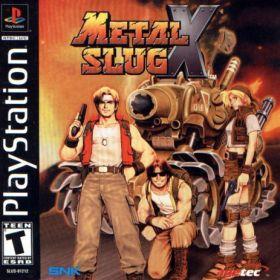 The cover art of the game Metal Slug X.