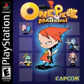 The cover art of the game One Piece Mansion.