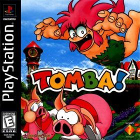 The cover art of the game Tomba!.