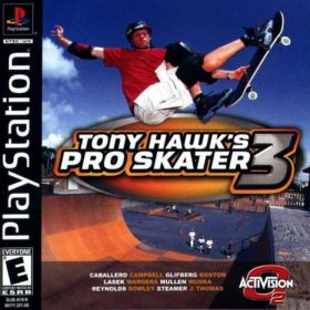 The cover art of the game Tony Hawk's Pro Skater 3.
