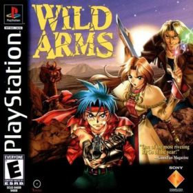 The cover art of the game Wild Arms.