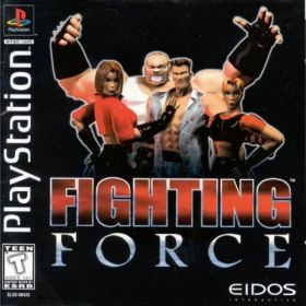The cover art of the game Fighting Force.