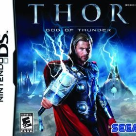 The cover art of the game Thor: God of Thunder.
