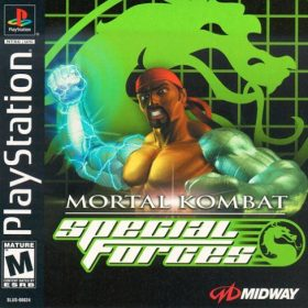 The cover art of the game Mortal Kombat Special Forces.