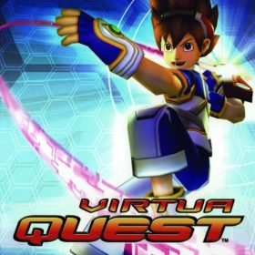 The cover art of the game Virtua Quest.