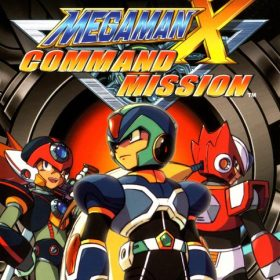 The cover art of the game Mega Man X: Command Mission (UNDUB).