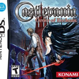The cover art of the game Castlevania: Order of Ecclesia (Undub).