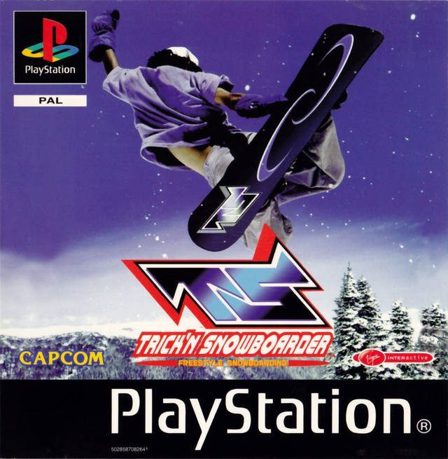 The coverart image of Trick'N Snowboarder
