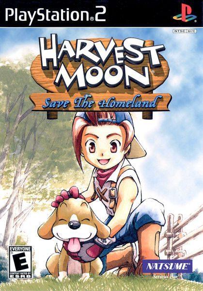 Harvest Moon Wonderful Life Iso : harvest, wonderful, Harvest, Moon:, Homeland, (USA), CDRomance