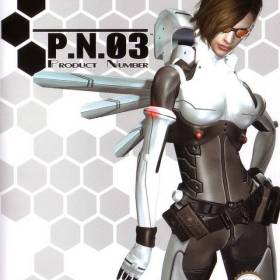 The cover art of the game P.N.03.