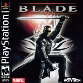 The cover art of the game Blade.