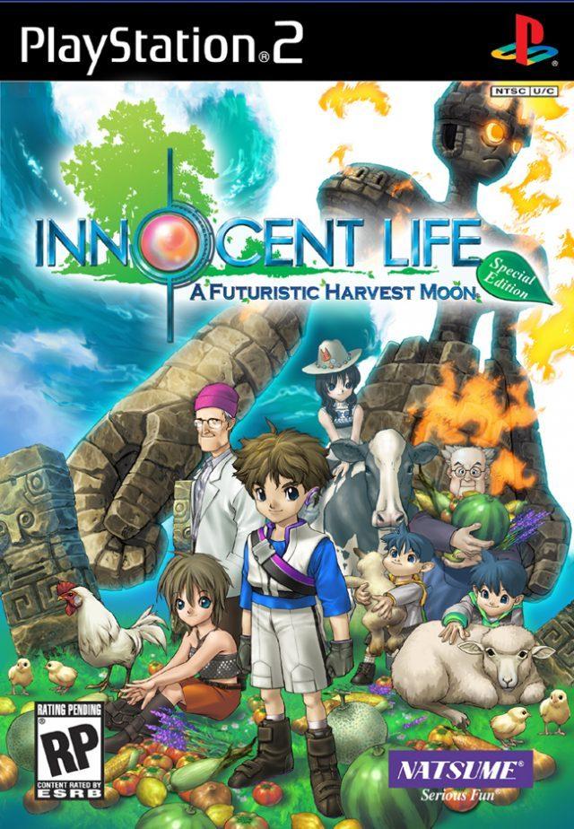 Harvest Moon Wonderful Life Iso : harvest, wonderful, Innocent, Life:, Futuristic, Harvest, Special, Edition, (USA), CDRomance