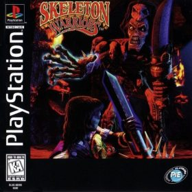 The cover art of the game Skeleton Warriors.