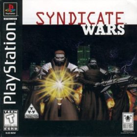 The cover art of the game Syndicate Wars.