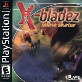 The cover art of the game X-Bladez: Inline Skater.