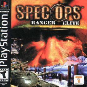 The cover art of the game Spec Ops: Ranger Elite.