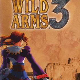 The cover art of the game Wild Arms 3.