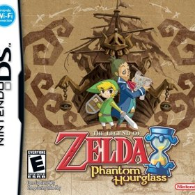 The cover art of the game The Legend of Zelda: Phantom Hourglass (D-Pad Patched).