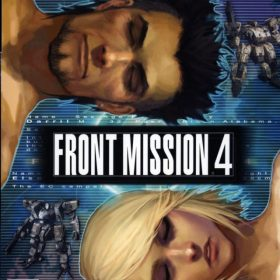 The cover art of the game Front Mission 4.