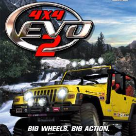 The cover art of the game 4X4 EVO 2.