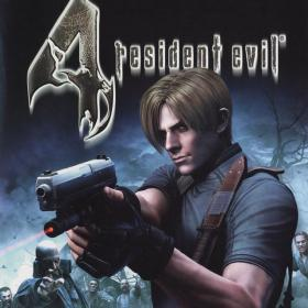 The cover art of the game Resident Evil 4.