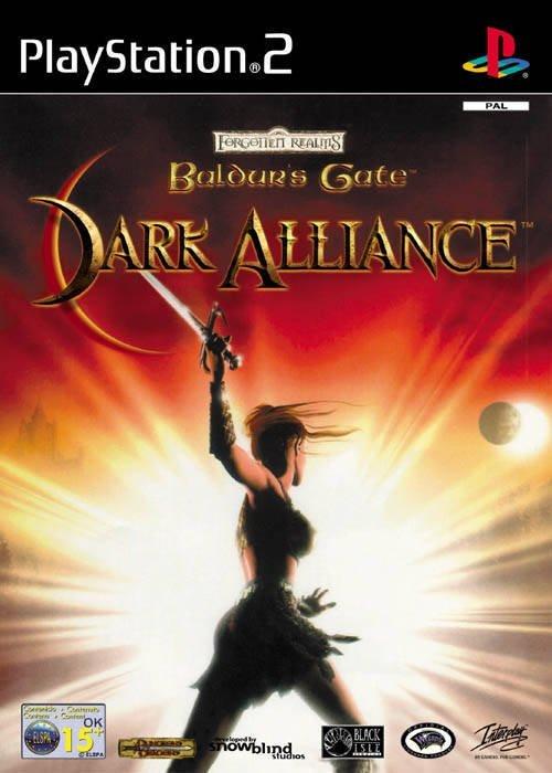 The coverart image of Baldur's Gate: Dark Alliance