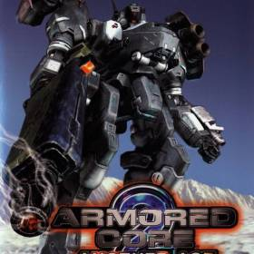 The cover art of the game Armored Core 2: Another Age.