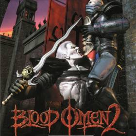The cover art of the game Blood Omen 2.