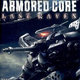The cover art of the game Armored Core: Last Raven.