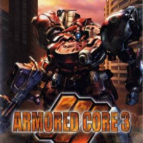 The cover art of the game Armored Core 3.