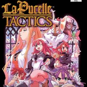 The cover art of the game La Pucelle: Tactics.