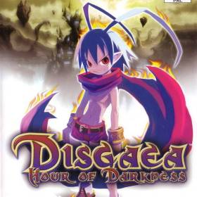 The cover art of the game Disgaea: Hour of Darkness.